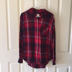 A new day plaid shirt | size L